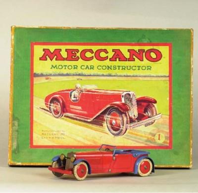 A Meccano clockwork No. 1 Cons