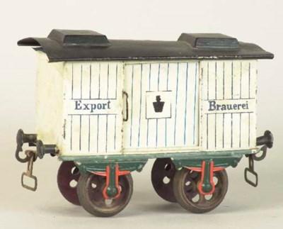 Märklin Gauge II two-axle Roll