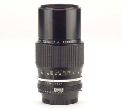 Nikkor 200mm. f/4 no. 827023