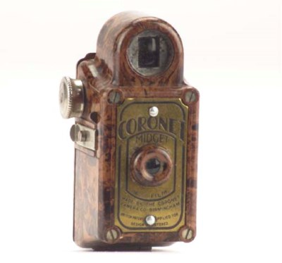 Midget camera (brown)