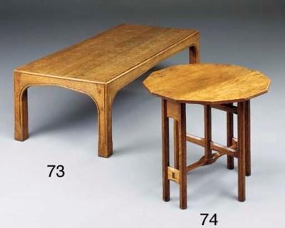 AN OAK GATELEG OCCASIONAL TABL