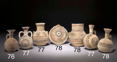 A GROUP OF CYPRIOT IRON AGE MI