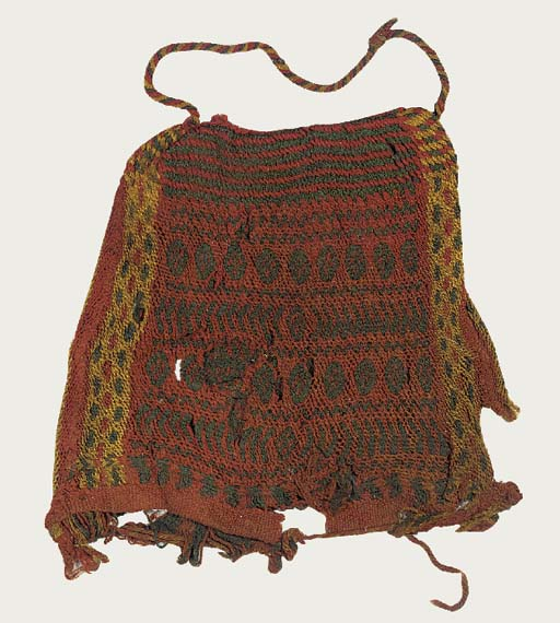 FIVE COPTIC WOOL COWLS