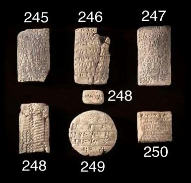 THREE OLD BABYLONIAN CUNEIFORM