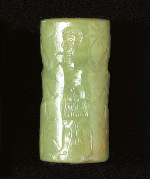 A NEO-BABYLONIAN GREEN CHALCED