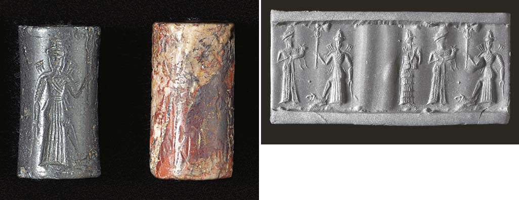 AN OLD BABYLONIAN HAEMATITE CY