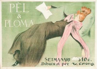 CASAS, RAMON (1866-1932)