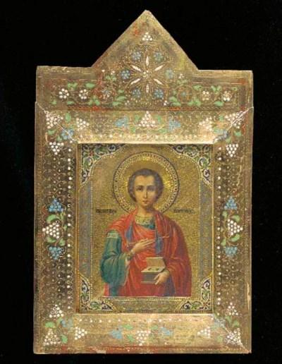 St. Panteleimon, the healer