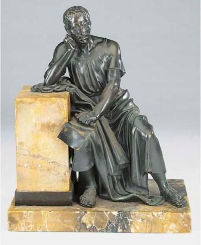 A French bronze of Roman senat