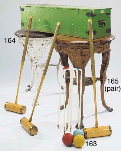 A English boxed croquet set, m