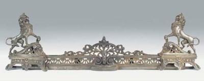 A Victorian cast iron adjustab