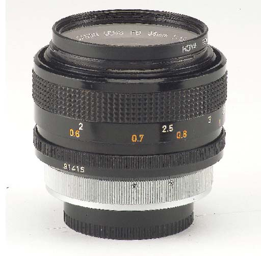 Canon FD 55mm. f/1.2 Aspherica