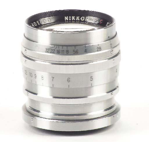 Nikkor-P.C f/2 8.5cm. no. 4013