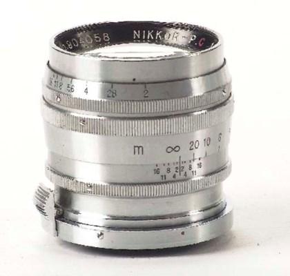 Nikkor-P.C f/2 8.5cm. no. 9040