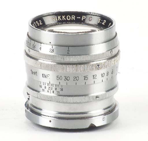 Nikkor-P·C f/2 8.5cm. no. 2867