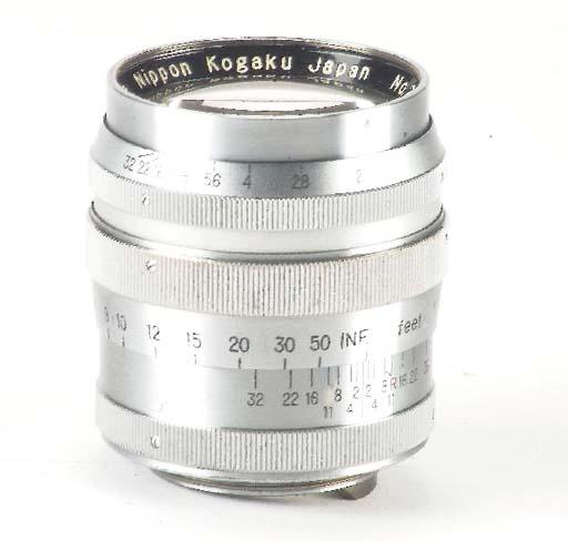 Nikkor-P·C f/2 8.5cm. no. 2904