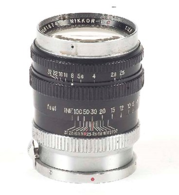 Nikkor-P·C f/2.8 10.5cm. no. 8