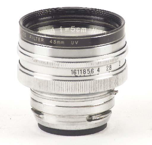 Nikkor-S.C f/1.4 5cm. no. 3624