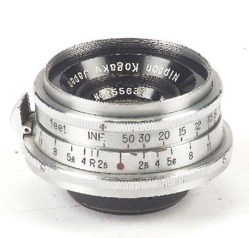 W-Nikkor·C f/2.5 3.5cm. no. 25