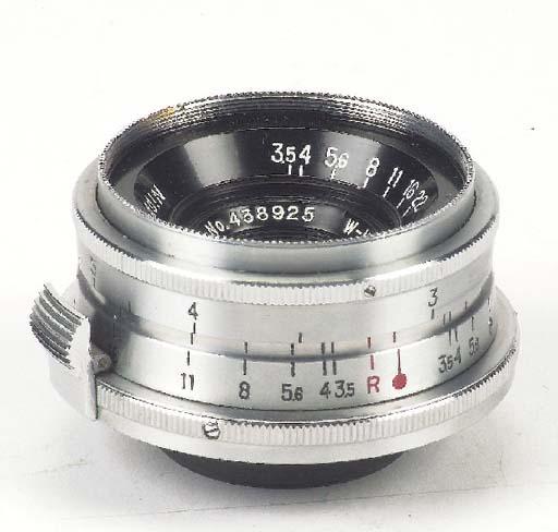 W-Nikkor·C f/3.5 3.5cm. no. 43