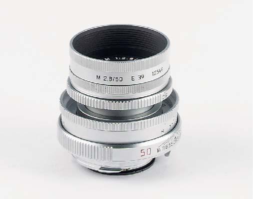 Elmar-M f/2.8 50mm. no. 366809