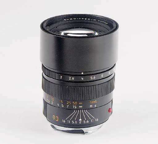 Summicron-M f/2 90mm. no. 3643