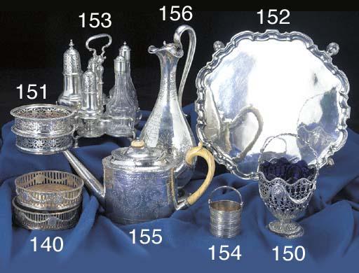 A George II Silver Cream Pail