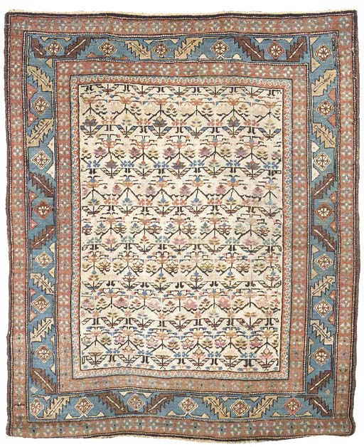 An antique Bakshaish rug, Nort