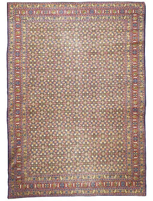 A fine antique Senneh carpet,