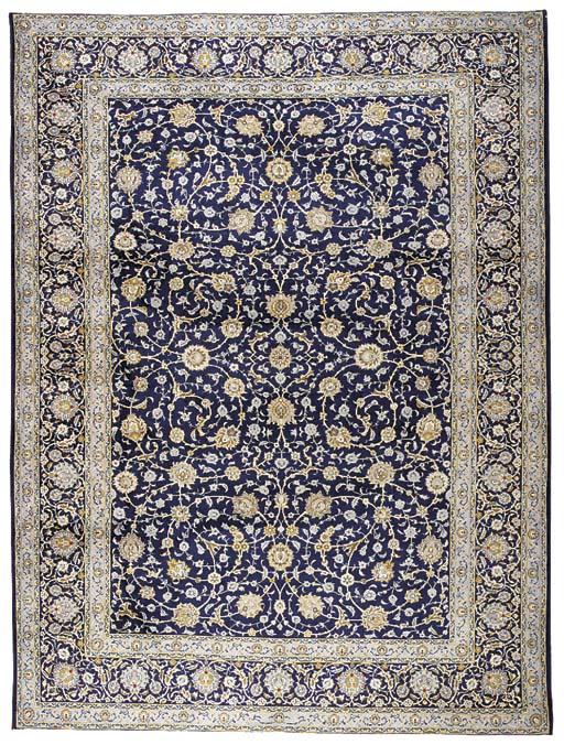 A fine Tofighi Kashan carpet,