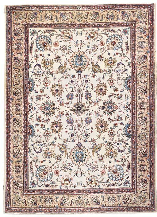 A fine Mehrabani Tabriz carpet