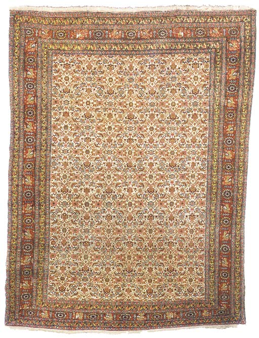 A fine antique Senneh rug, Wes