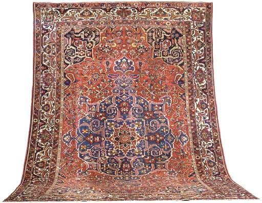 A fine Bakhtiari carpet, West