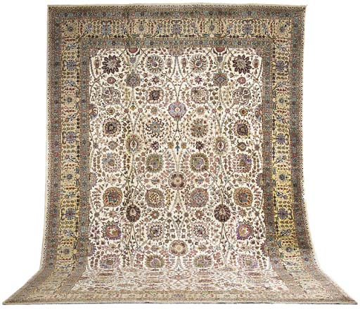 A fine Torabi Tabriz carpet, N