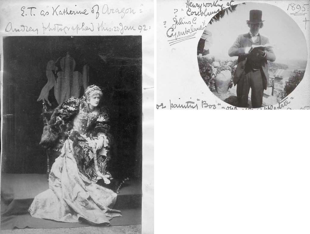 TERRY, Ellen (1847-1928). Phot