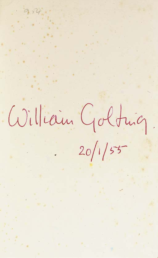 GOLDING, William (1911-1993).