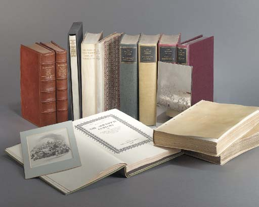 THE NONESUCH PRESS -- A COMPLETE COLLECTION OF THE FIRST 100 NONESUCH BOOKS & LATER WORKS