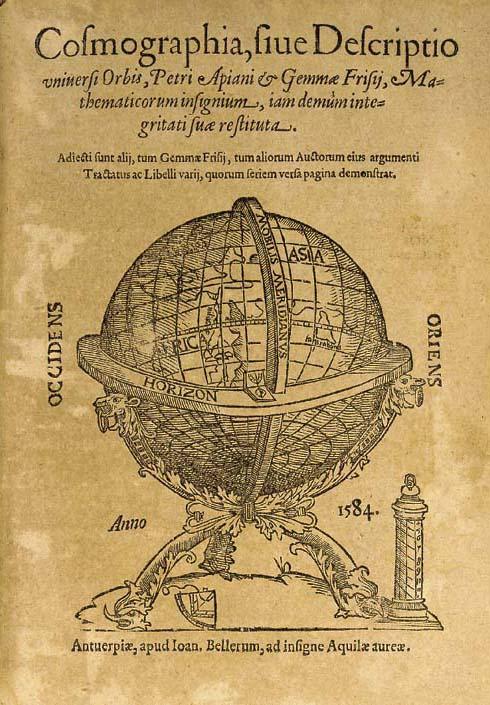 APIANUS, Petrus (1495-1552).