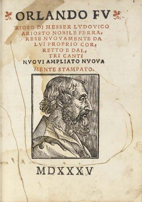 ARIOSTO, Ludovico (1474-1533).