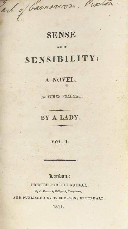 [AUSTEN, Jane (1775-1817)]  Se