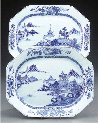 A pair of Chinese Nankin expor