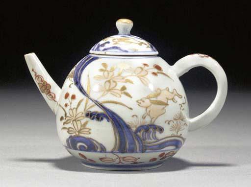 An Imari tea pot and cover Edo