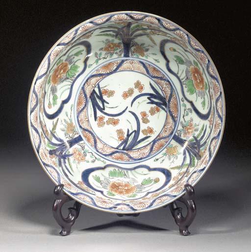 An Imari bowl Edo Period (18th