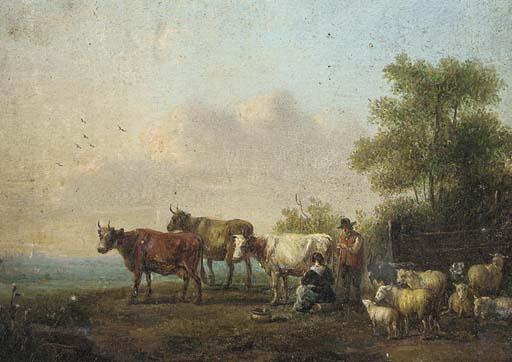 Follower of Paulus Potter