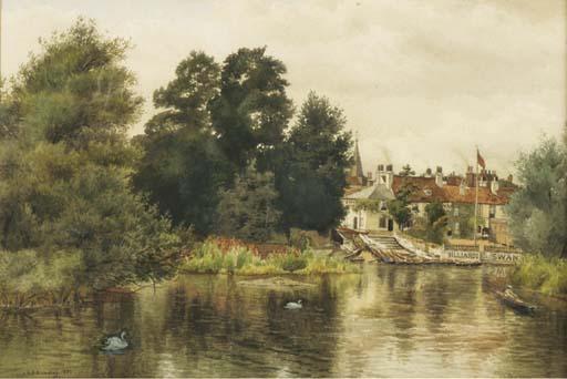 C. A. Brindley , circa 1891