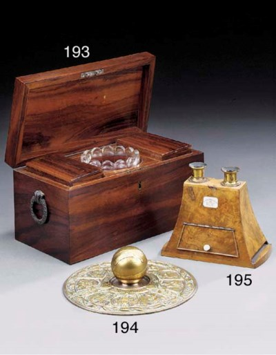 A Victorian walnut cased stere