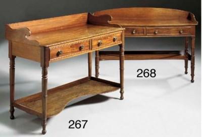 An Irish late Regency mahogany