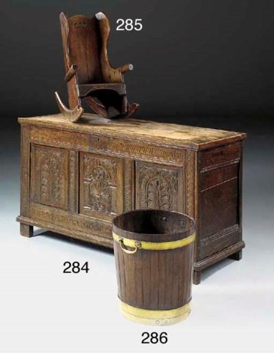A George III coopered mahogany