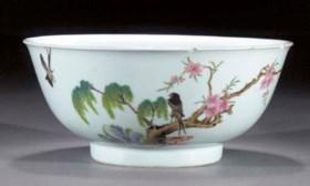 A famille rose bowl  Yongzheng