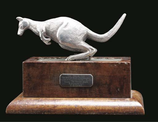 DAVIS CUP 1912 -- A silver tro